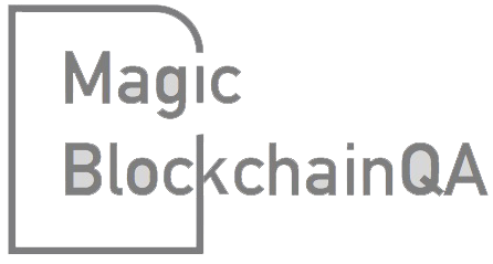 Magic BlockchainQA Logo Footer
